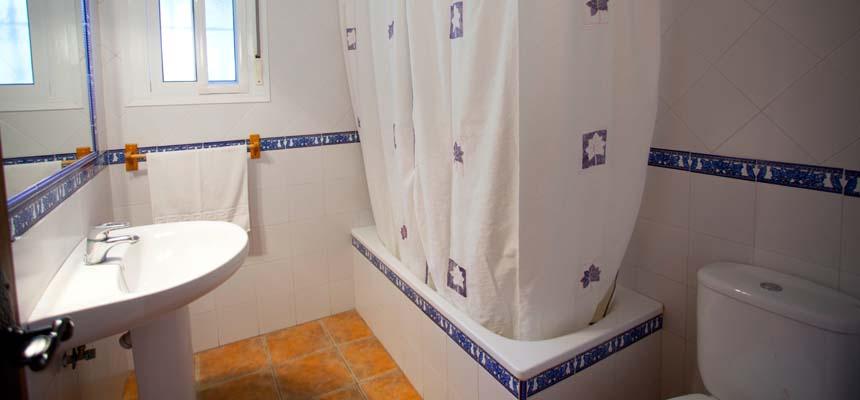 Hus badeværelse